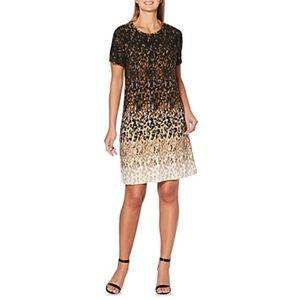 NWOT Rafaella Leopard A-Line Dres